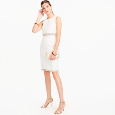 Tall going-places dress in linen