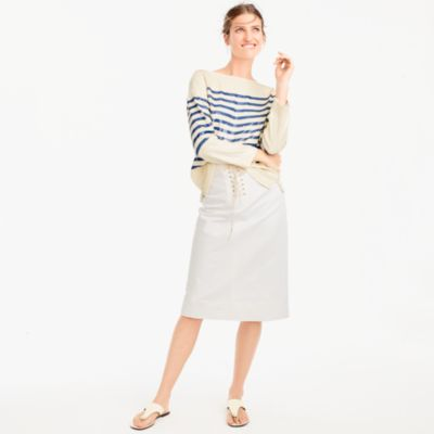 Sailor tie skirt