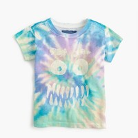 "Girls' tie-dye ""tomgirl"" T-shirt"