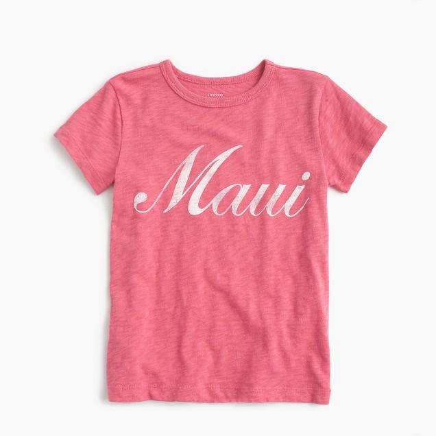 "Kids' ""Maui"" T-shirt"