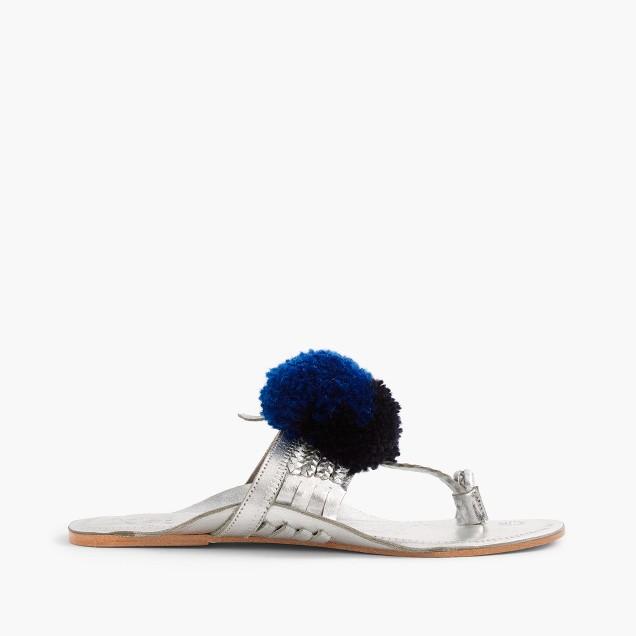 Figue® Leo pom-pom sandals