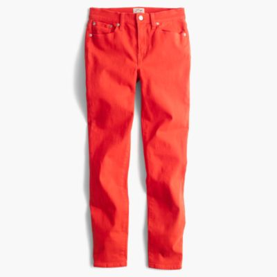"""Tall 8"""" toothpick garment-dyed jean"""