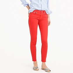Petite toothpick garment-dyed jean