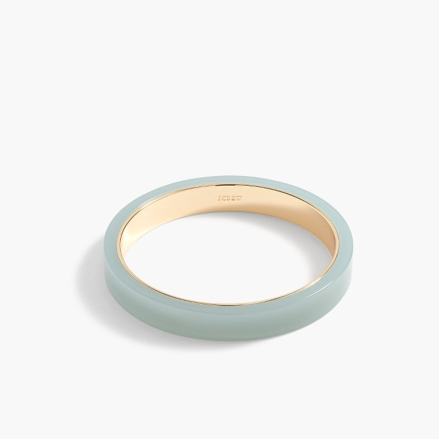 Thick resin bangle