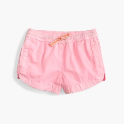 Girls' neon dock short