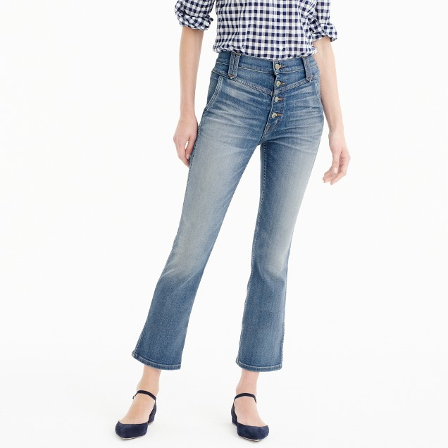 Point Sur vintage jean with button fly