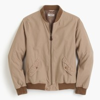 Wallace & Barnes garment-dyed cotton MA-1 bomber jacket