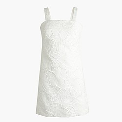 Petite convertible-strap dress in embossed floral