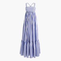 Collection Thomas Mason® for J.Crew tiered ruffle dress