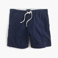 Dock short in dot stitch