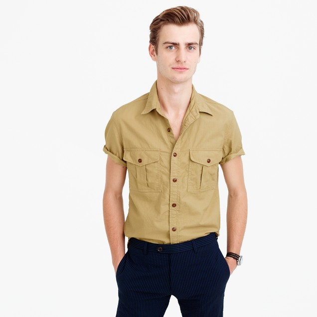 Wallace & Barnes short-sleeve utility shirt