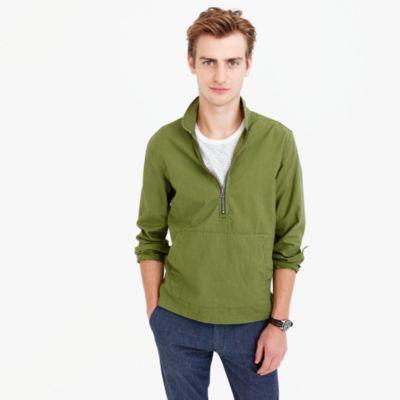Wallace & Barnes half-zip pullover shirt