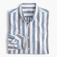 Slim lightweight oxford shirt in bold stripe
