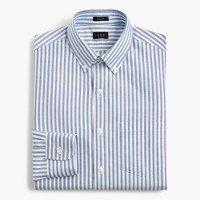 Ludlow oxford shirt in blue stripe