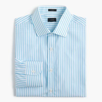 Crosby shirt in blue stripe