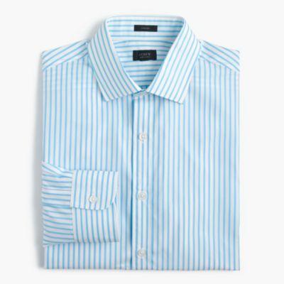 Crosby shirt in blue stripe