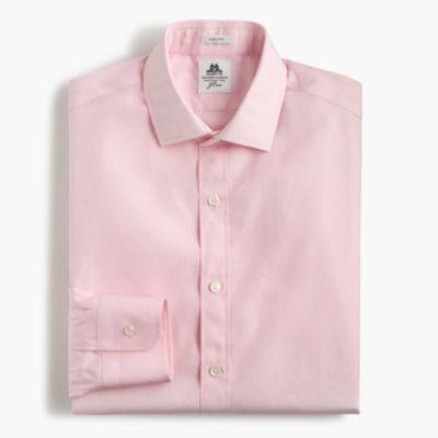Thomas Mason® for J.Crew Ludlow shirt in pale pink