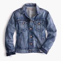 Point Sur distressed denim jacket