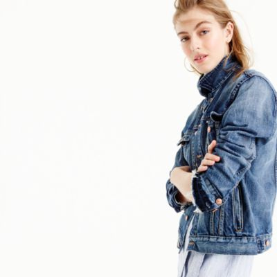 Point Sur distressed denim jacket