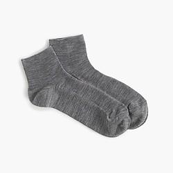 Merino wool ankle socks