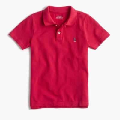 Boys' critter polo shirt