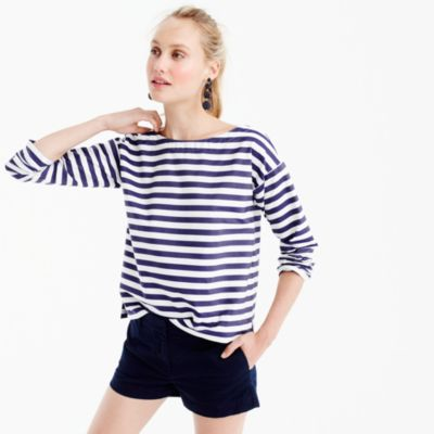 Collection Thomas Mason® for J.Crew boatneck top