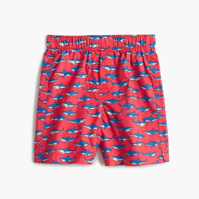 Boys' shark boxers