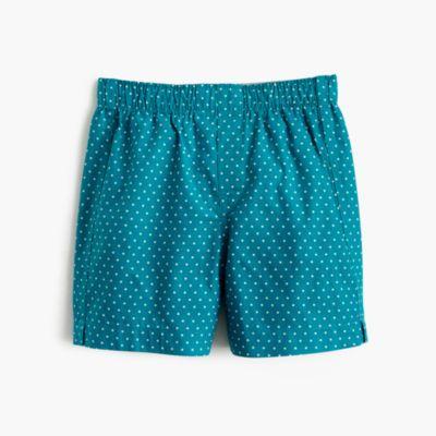 Boy's polka-dot boxers