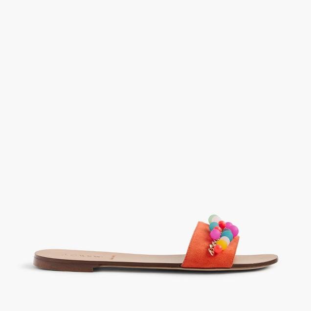 Colorful bauble slides