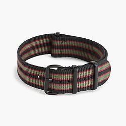 Watch strap in stripe