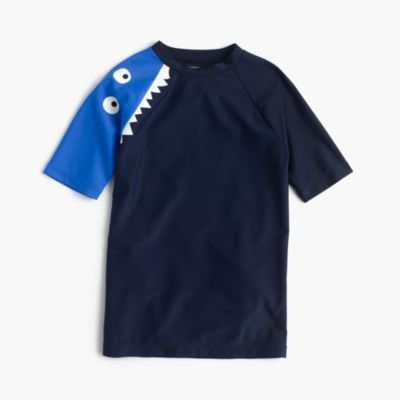 Boys' short-sleeve Max the Monster rash guard
