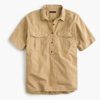 Garment-dyed utility popover
