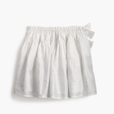 Girls' pull-on skirt