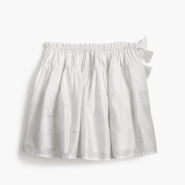 Girls' pull-on skirt