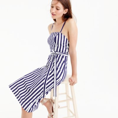 Thomas Mason® for J.Crew striped apron dress