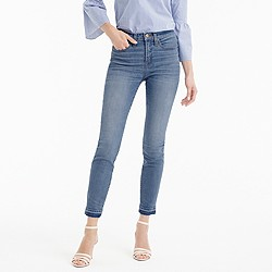 """Petite 9"""" lookout high-rise crop jean with let-out hem"""