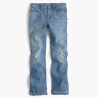 Tall Billie demi-boot crop jean in Sherman wash