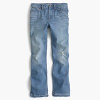 Billie demi-boot crop jean in Sherman wash