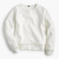 Pom-pom sweatshirt