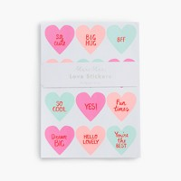 Girls' Meri Meri™ Valentine's Day stickers