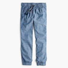 New seaside pant in chambray - CHAMBRAY
