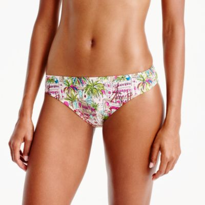Bikini bottom in harbor print