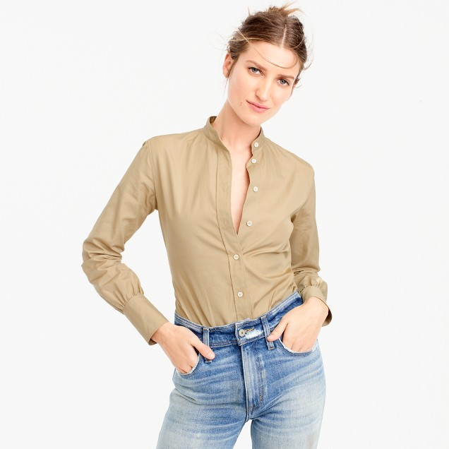 Collection Thomas Mason® for J.Crew button-up bodysuit