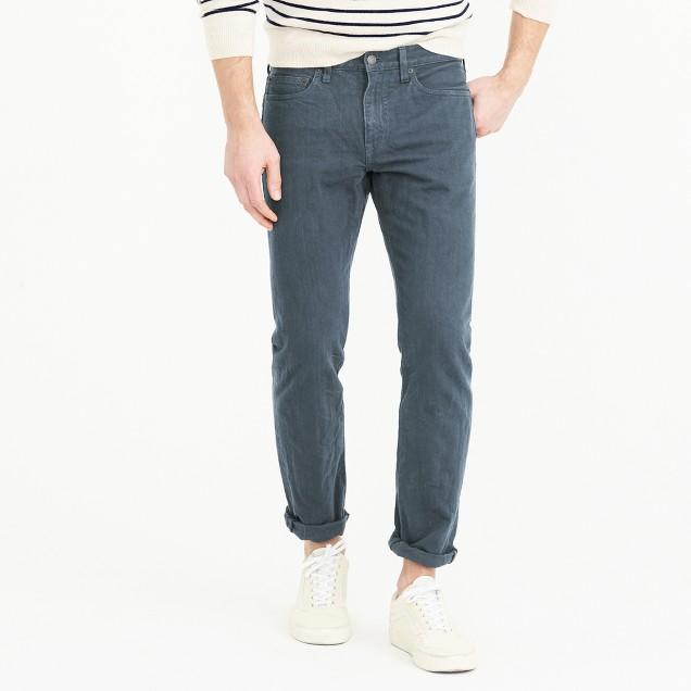 484 jean in garment-dyed American denim