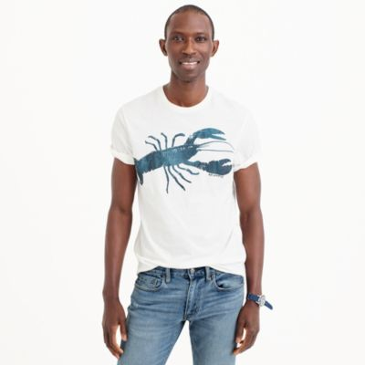 Lobster graphic T-shirt