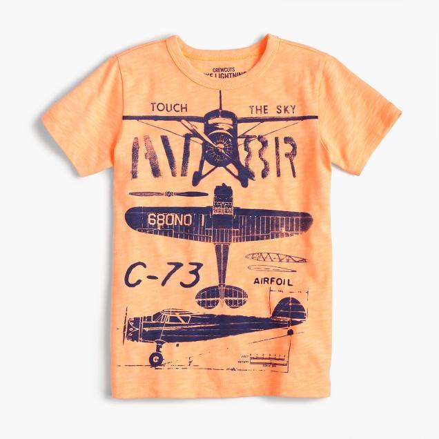 Boys' vintage airplanes T-shirt