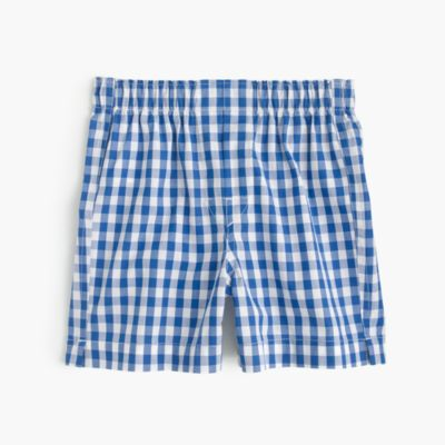 Boys' gingham boxers