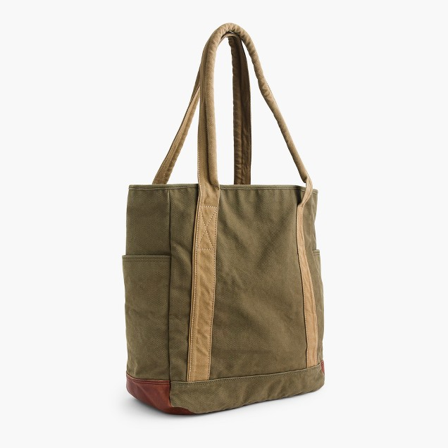 Wallace & Barnes canvas tote