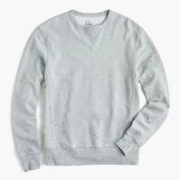 Crewneck sweatshirt in paint splatter