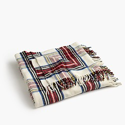 Pre-order Faribault™ wool blanket in Stewart plaid